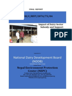FINAL REPORT-IMPACT OF SUPPORT in NEPAL-min