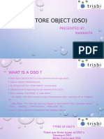 DATA STORE OBJECT( DSO) by mani