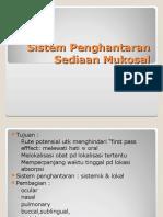 III. A. DDS mukosal-nasal