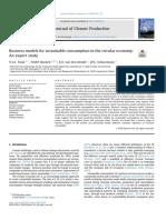 9 Modelos de negocio para el consumo sostenible en EC-estudio de expertos