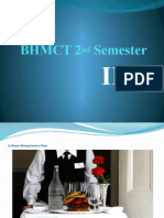 In Room Dining PPT