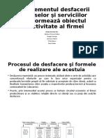 Managementul desfacerii produselor şi serviciilor Tema AR4