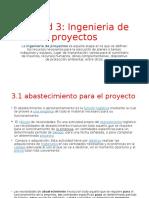 Unidad 3 gestion de proyectos