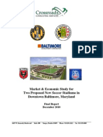 Baltimore Soccer Stadium Study