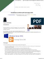 Installation de Microsoft Exchange 2016 _ SUPINFO, École Supérieure d'Informatique.pdf