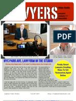 Lawyers Video Studio Online Newsletter-January 2011