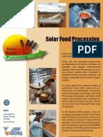 Solar Food Processing Brochure