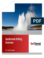 different geothermal drilling vs oil and gas