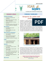 Apr-Jun 2010 Newsletter, Indian Council of Agricultural Research