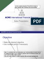 Acme Sales Presentation