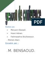 raport bensaoud 2003