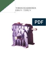 OLIMAR - Catálogo de Redutores Tipo V