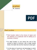 2.3 Plant-location