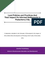 Dissertation Final - Puducherry