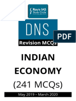 Raus DNA MCQ Economy 2020