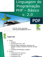 Curso Linguagem de Programação - PHP