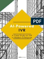 Case Study - AI-Powered IVR