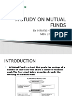 A Study on Mutual Funds in India Auto Saved]