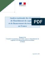 analyse-nationale-des-risques-lcb-ft-en-France-septembre-2019