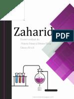 Proiect Chimie- Zaharide