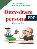 Dezvoltare personala clasa a 2