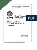 Np2-Norma Paraguaya de Baja Tensión