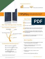 Topray TPSP6U 240W-260W20130912
