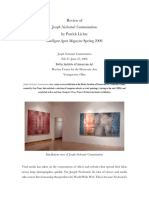 2006 Patrick Lichty Review of Joseph Nechvatal