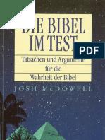 Die Bibel im Test - Tatsachen und Argumente für die Wahrheit der Bibel