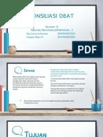 Rekonsiliasi Obat - PPF Kelas E