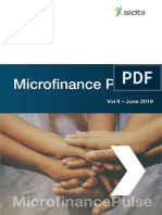Microfinance Pulse report June 2019