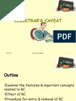 Registrar's Caveat Slides.pdf