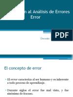 3. Error