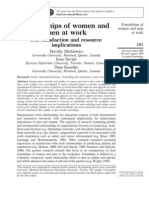 Friendship of Women and Men at Work
