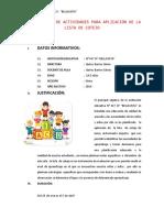 PLANIFICACIÓN DE ACTIVIDADES PARA APLICACIÓN DE LA LISTA DE COTEJO.docx