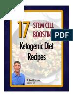 Stem Cell Boosting Recipes