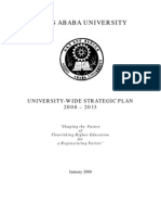 AAU - University Level Strategic Planning Final 2008