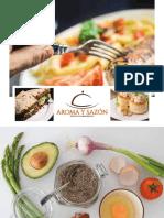 menu aroma y sazon