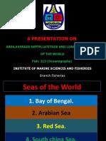 Seas OF THE WORLD
