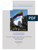 Nacionalismo y Autodeterminación