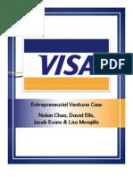Entrepreneurial Ventures VISA Live Case Report