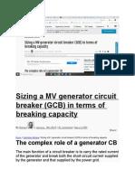 Sizing a MV Generator Circuit Breake1