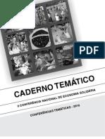 II CONAES Caderno Tematico
