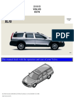 VOLVO XC70 2005 User Manual