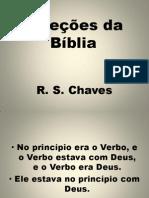 Seleções da Biblia -  R. S. Chaves