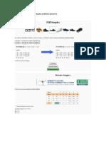 Solución en programa PHP
