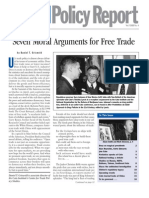 The Cato Institute - 7 Moral Arguments for Free Trade (2001)