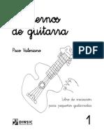 Cuadernos de Guitarra Paco Valeriano