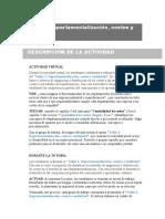 actividad departamentalizacion de costos
