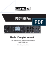 POD HD Pro Advanced Guide v2.0 - French ( Rev A )